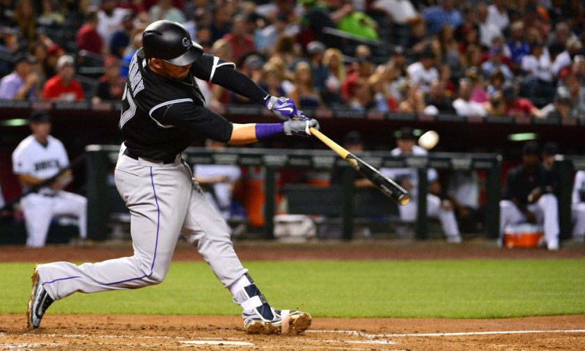 USP MLB: COLORADO ROCKIES AT ARIZONA DIAMONDBACKS S [BBA OR BBN] USA AZ
