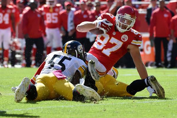 Travis+Kelce+Pittsburgh+Steelers+v+Kansas+rVp1RO4-Trvl