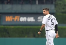 Detroit Tigers outfielder Nicholas Castellanos