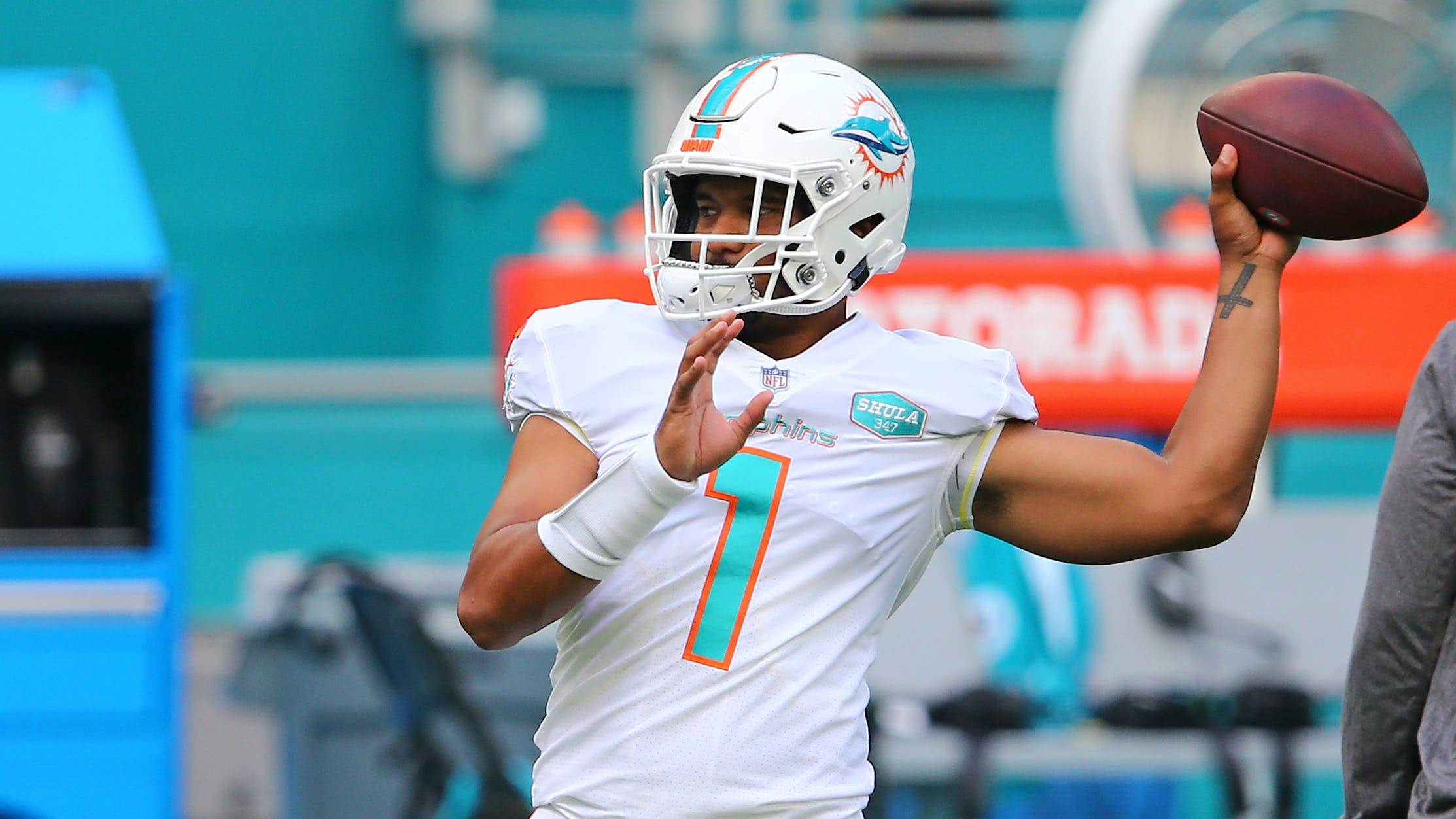 Tua Tagovailoa Named Dolphins Starting Quarterback