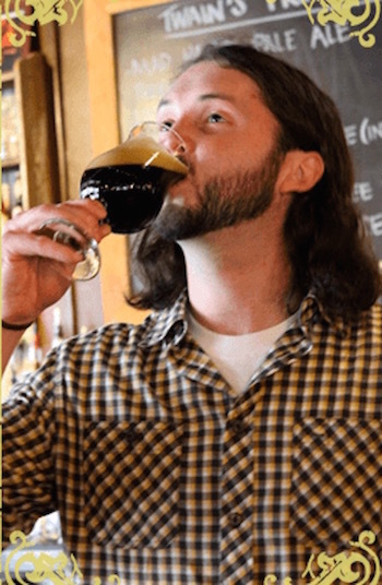 Longtime Twain's brewer Chase Medlin will open his new brewery to the public in early 2017. (Photo courtesy of Twain's Brewpub)