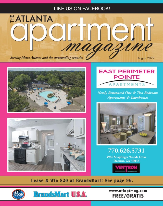 The Atlanta Apartment Magazine Specializes In Professionally Managed Apartments And Townhomes For If You Are Searching Studios One Bedroom