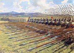 Greek Phalanx The Atlantis Project Jake Parrick Warfare in Fantasy