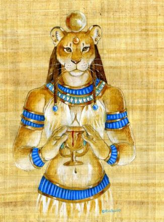 Gibborim Lion Hybrid Sekhmet The Atlantis Project written by Jake Parrick