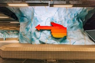 Stockholm Subway Art: Stadion