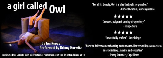 A Girl Called Owl_email_banner