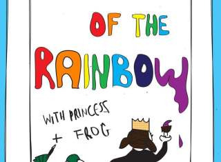 Colours of the Rainbow with Princess and Frog