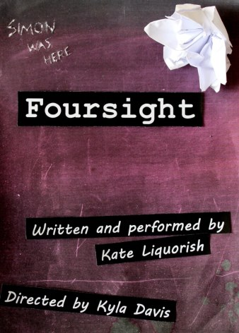 Kate-Liquorish-Foursight-poster