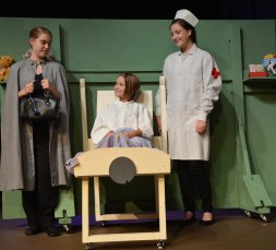 "Theatre Bristol's The Adventures of Madeline by Ludwig Bemelmans ""...you look like yourself again."" August 26 - September 11"