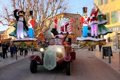 Tacot volant du père Noël