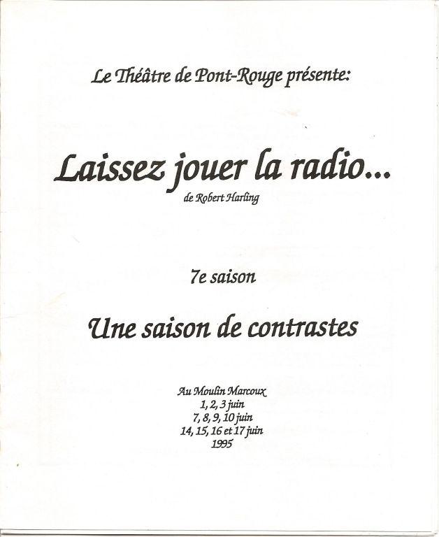Affiche 1995-1
