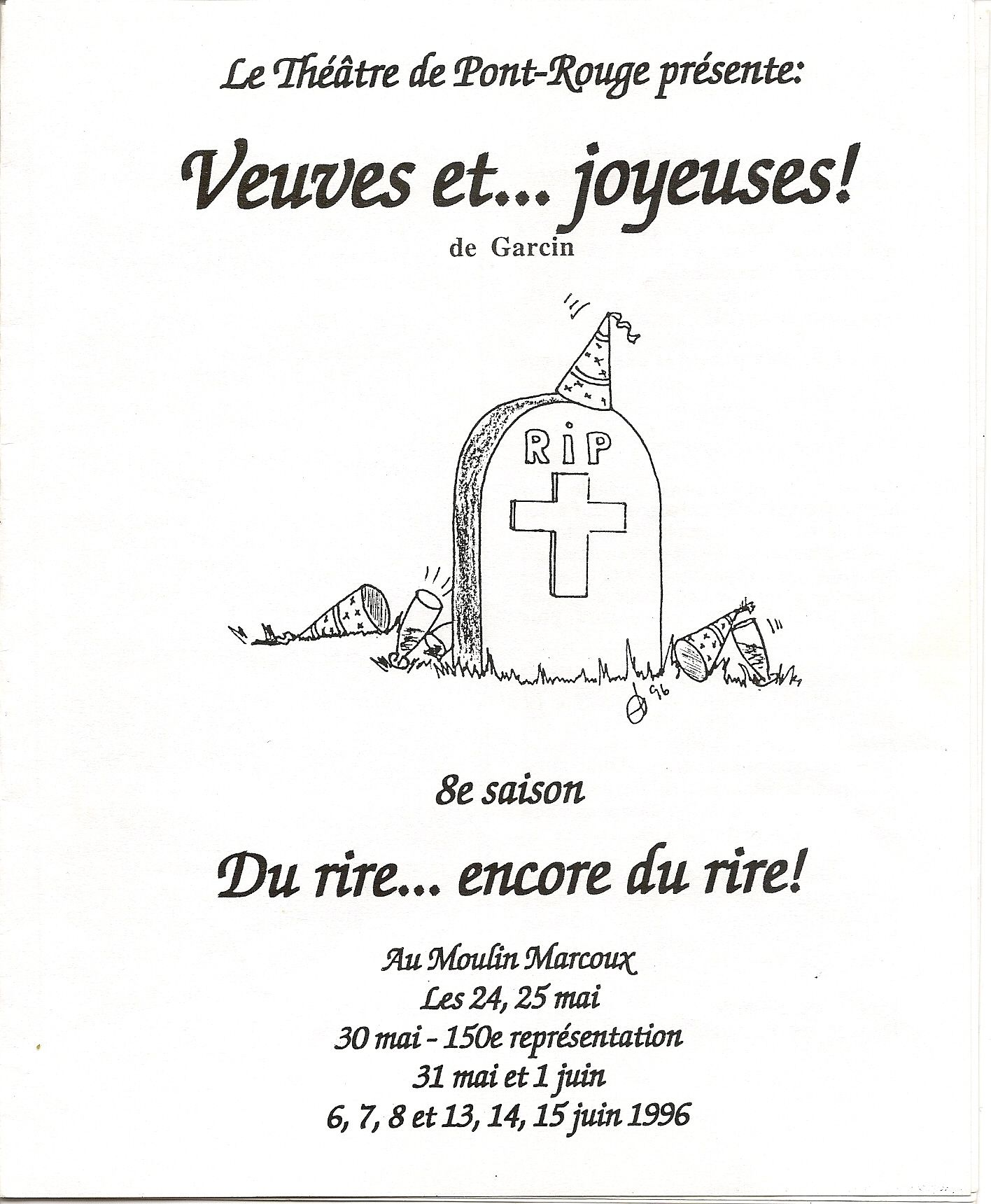 Affiche 1996