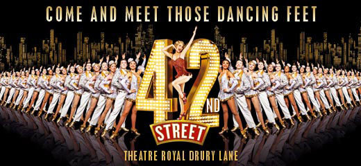 42ND STREET UK CINEMA SCREENING DATED