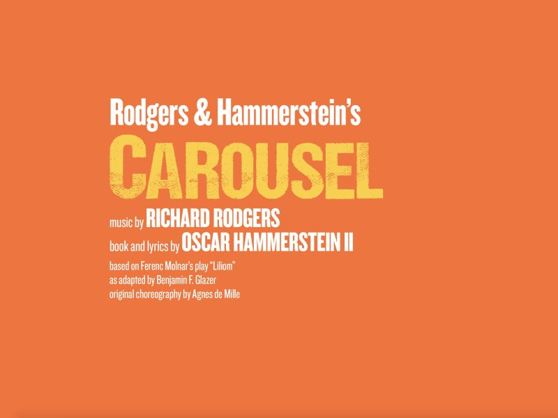 REGENT'S PARK OPEN AIR THEATRE ANNOUNCE 2020 SEASON – RODGERS & HAMMERSTEIN'S CAROUSEL – CHOREOGRAPHED BY DREW MCONIE