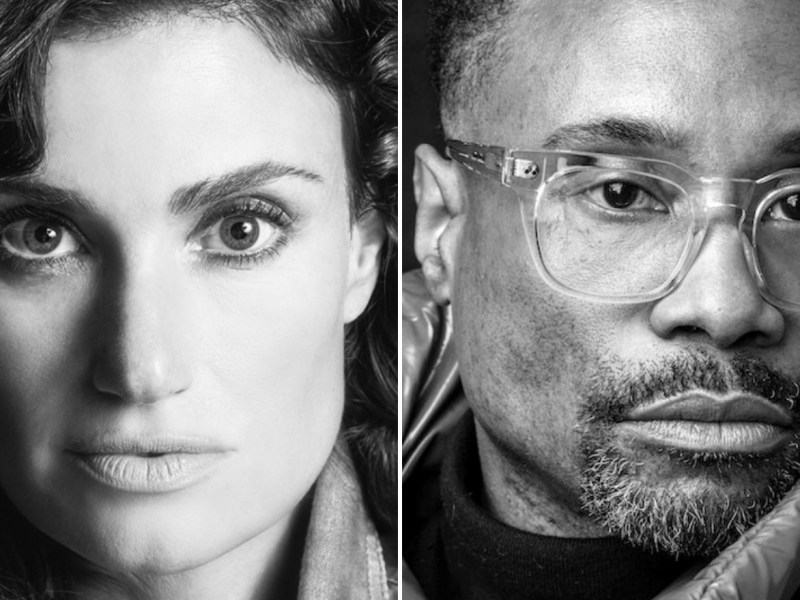 IDINA MENZEL & BILLY PORTER JOIN CAST OF NEW CINDERELLA MUSICAL FILM