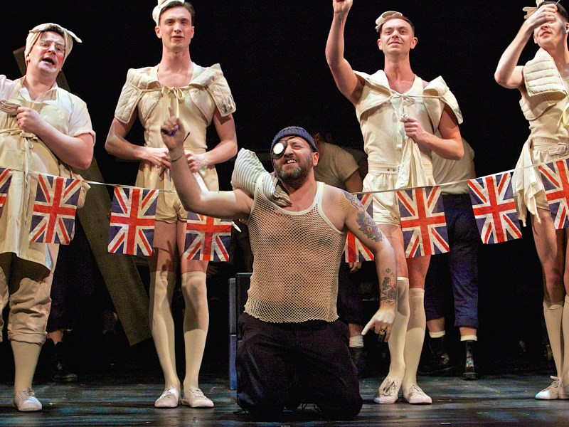ALL MALE HMS PINAFORE ANNOUNCED FOR WILTON'S MUSIC HALL