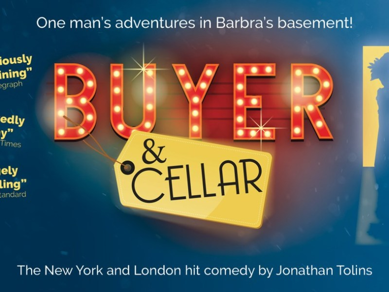 BUYER & CELLAR ANNOUNCED FOR ABOVE THE STAG – STARRING AARON SIDWELL