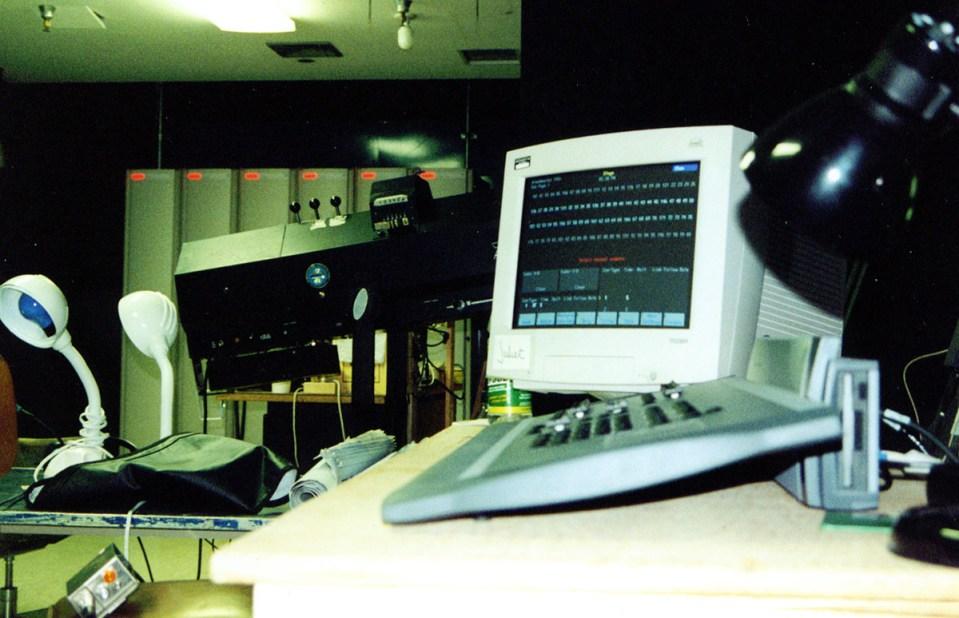 Theatre UAF Light Booth