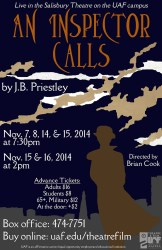 An Inspector Calls production poster