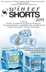 Winter Shorts Poster Fall, 2015