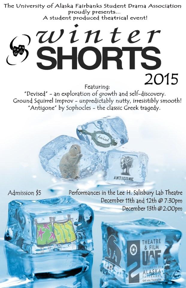 Winter Shorts Poster Fall, 2015