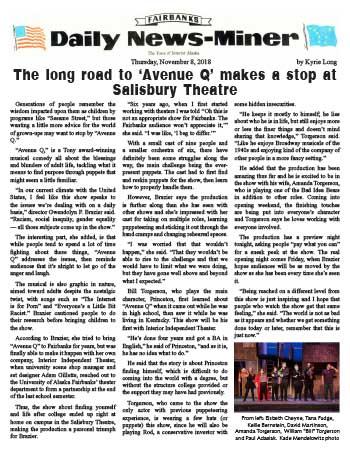 Article - News-Miner Avenue Qt