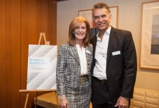 Amy Miles and Brian Stokes Mitchell