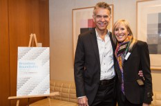 Brian Stokes Mitchell and Wendy Sarasohn