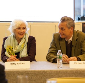 Betty Buckley and Michael Ritchie
