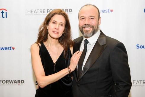 Jessica Hecht and Danny Burstein