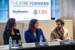 Larissa FastHorse, Jill Simonson Luciano, and Brandon Uranowitz