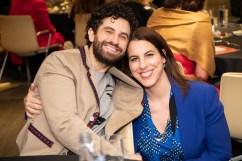 Brandon Uranowitz and Jill Simonson Luciano