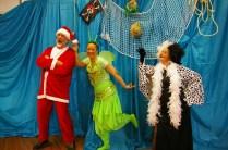 Père Noël, Fée clochette et Cruella