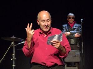 Jaurès ou l'art de vivre, Chergui Théâtre, 17 octobre 2014, photo Adrien Raybaud