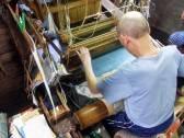 Jacquard loom @Sasaki Nō Isshō. ©2013 John Oglevee.