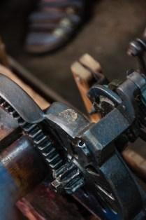 Jacquard loom detail
