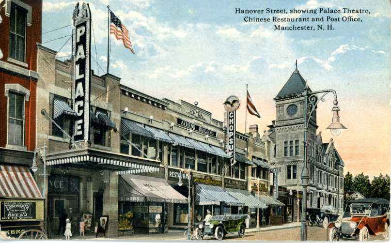 Palace Theatre, 80 Hanover Street, Manchester, NH 03101