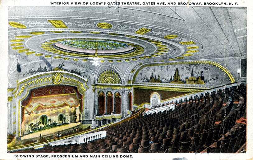 Loew's Gates Theatre, 1340 Broadway, Brooklyn, NY 11221