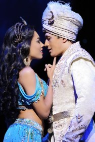 Aladdin Prince Edward Theatre Jade Ewen (Jasmine) and Dean John-Wilson (Aladdin) Photographer Deen van Meer © Disney 2