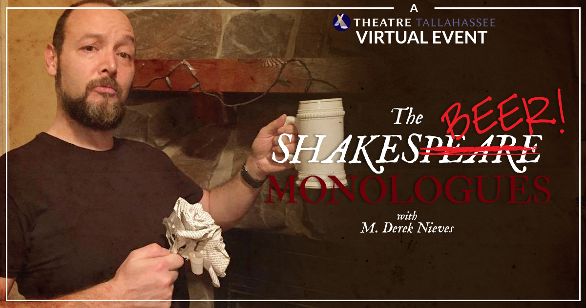 The Shakesbeer Monologues with M. Derek Nieves