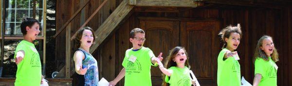 youth drama camp americana folk music
