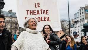 ariane mnouckine, théâtrons ensemble, presse, théâtre du soleil, france inter