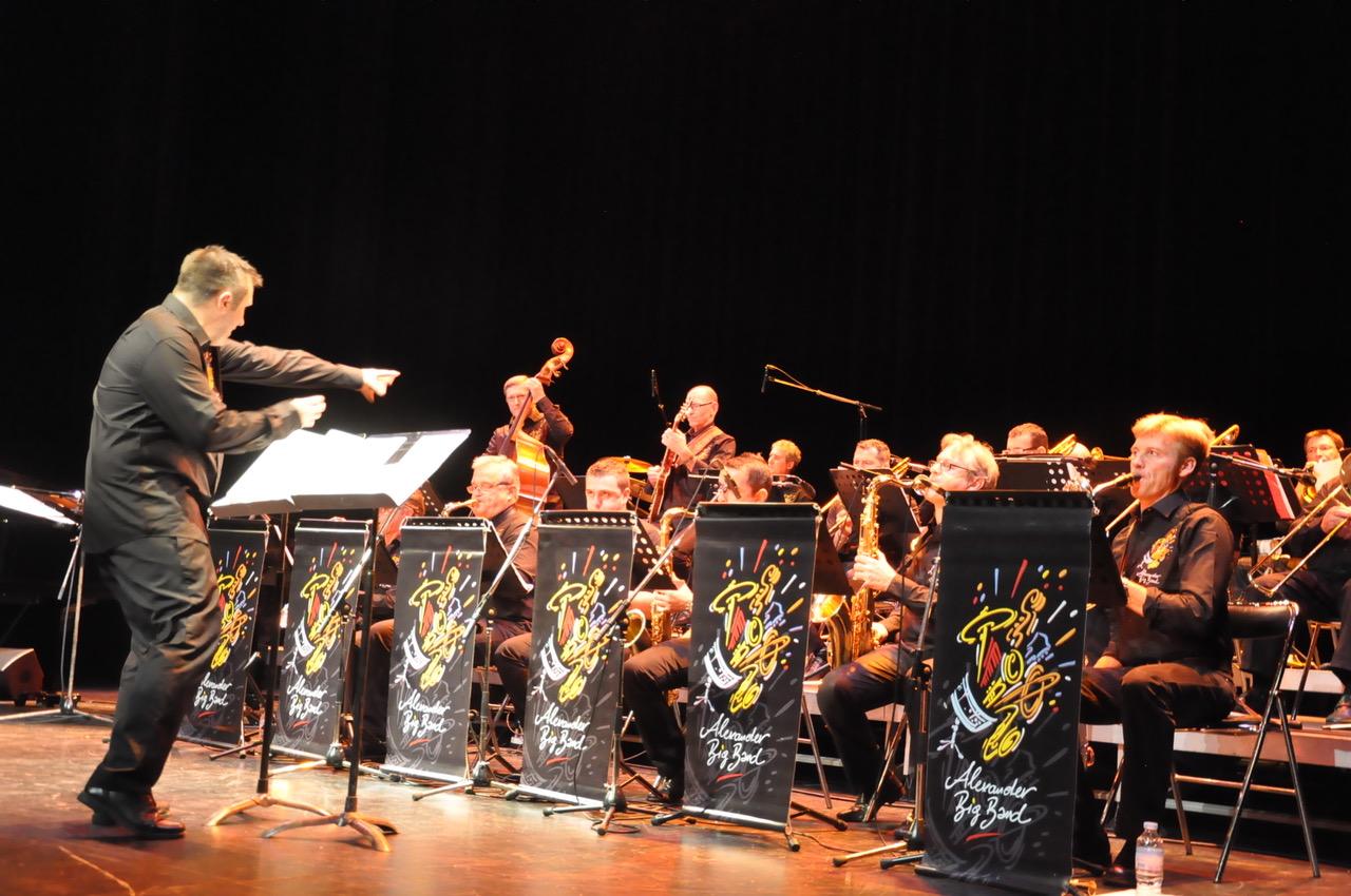 Concert de Jazz avec l'Alexander Big Band (64) Saint Pée sur Nivelle