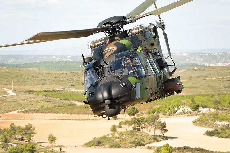 NH90 Caïman. Crédit photo : Armée de Terre - Alexandre Paringaux