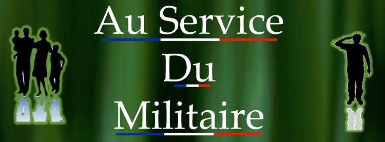 au service du militaire