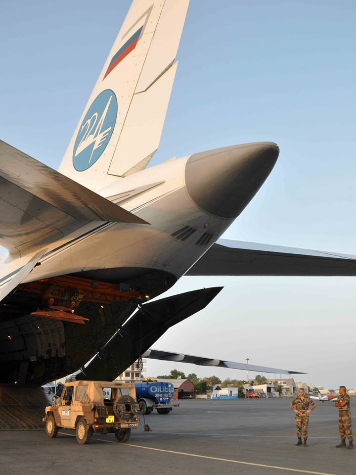 Sangaris avion russe