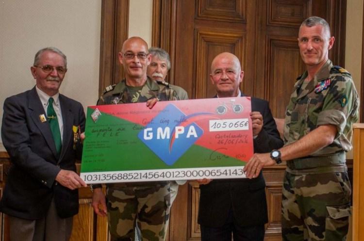 """Crédit photo : 4e RE. Le GMPA soutient """"La Solidaire"""" depuis sa création."""