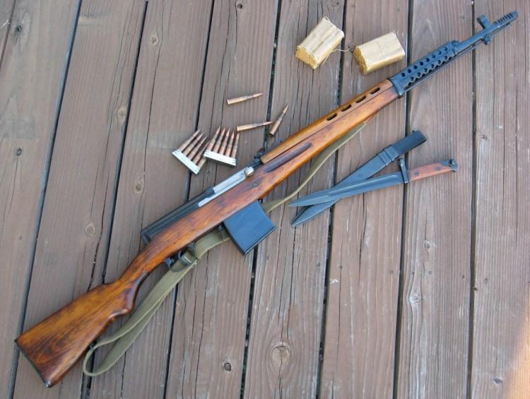 Un des trois principaux fusils de snipers de la Grande Guerre patriotique, le SVT-40.