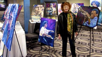 Permalink to: Bringing Jazz Artists to Life on Canvas, the Art of Merryl Jaye