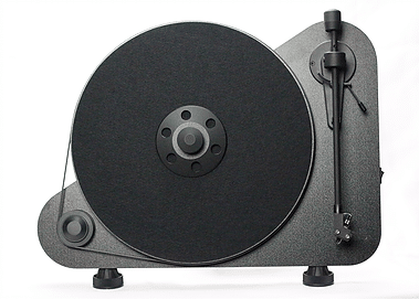 Project VT-E: the turntable goes vertical - The Audiophile Man